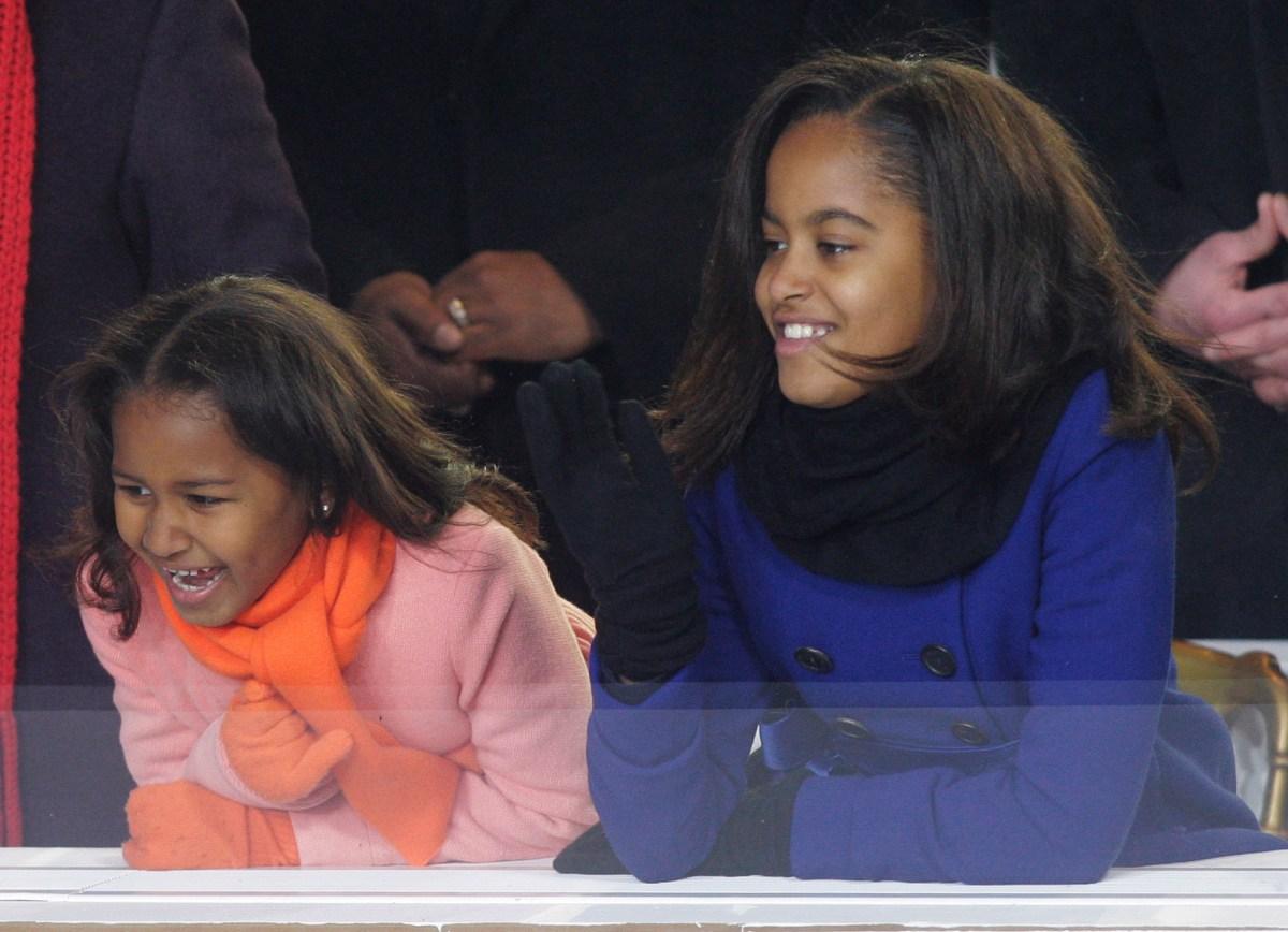 Sasha Obama, Malia Obama