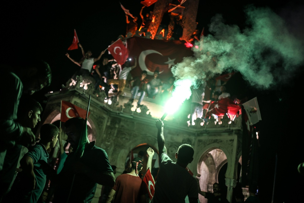 Pro-Government Rally In Izmir - Turkey