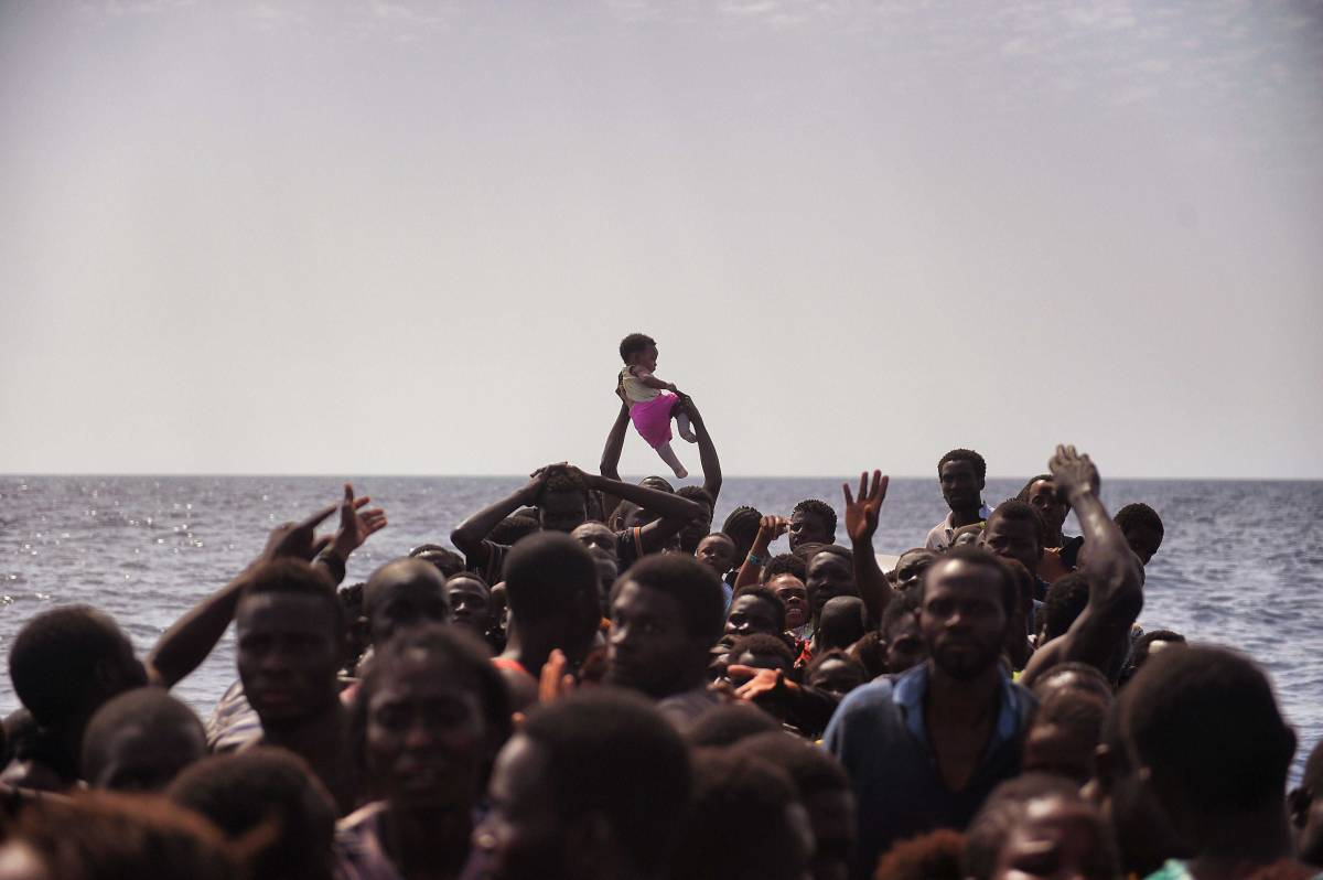 TOPSHOT-LIBYA-EUROPE-MIGRANTS