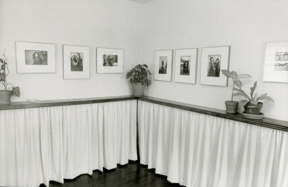 "Unknown photographer, <i> Installation View of ""The Gay Essay"" at the Ohio Silver Gallery, Los Angeles, 1973. </i>"