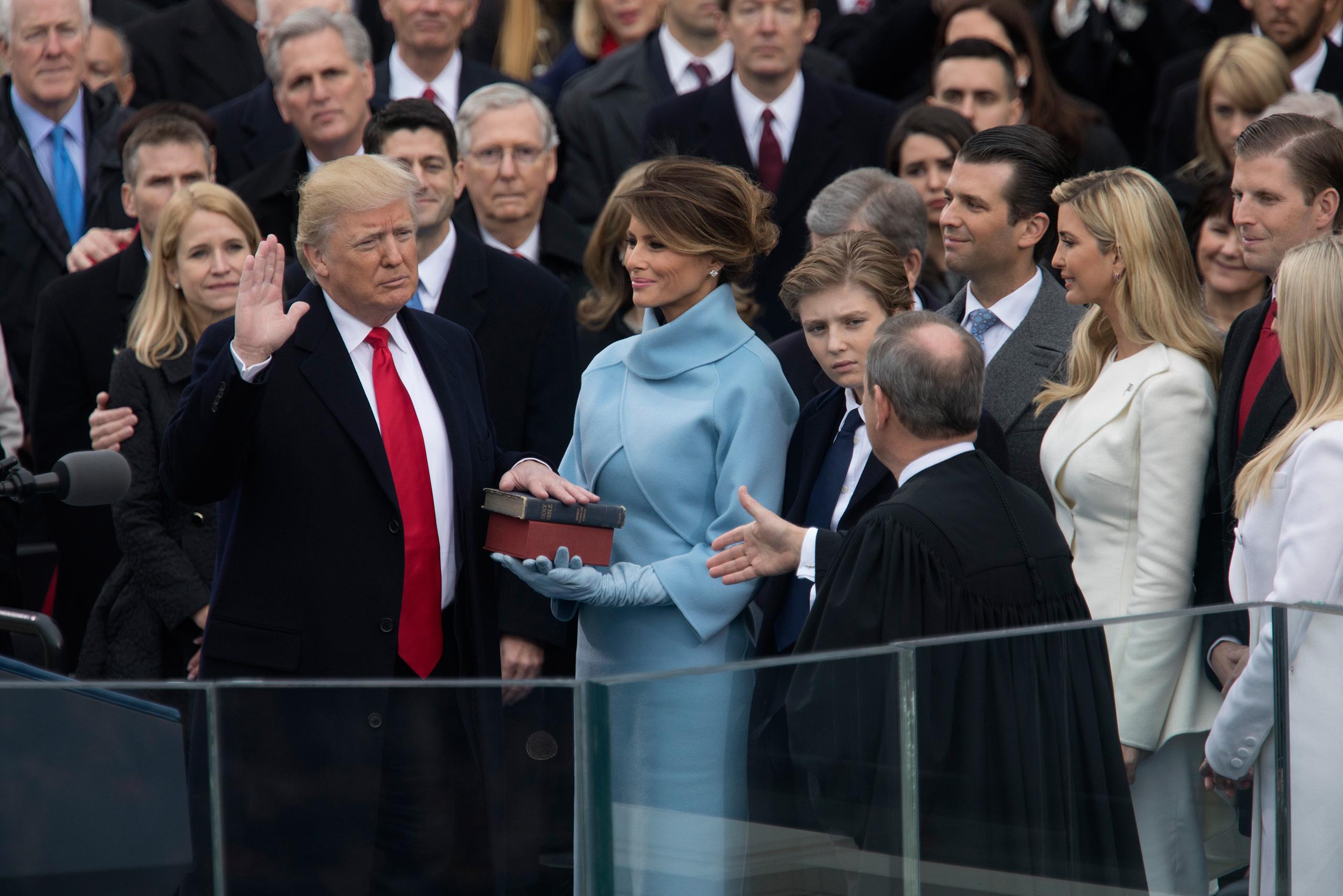 Trump Inauguration: President Donald Trump's Big Day