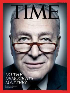 Do the Democrats Matter? Chuck Schumer Time Magazine cover