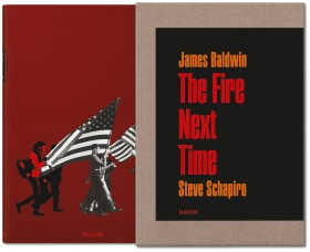 Book cover for James Baldwin, The Fire Next Time published by Taschen.