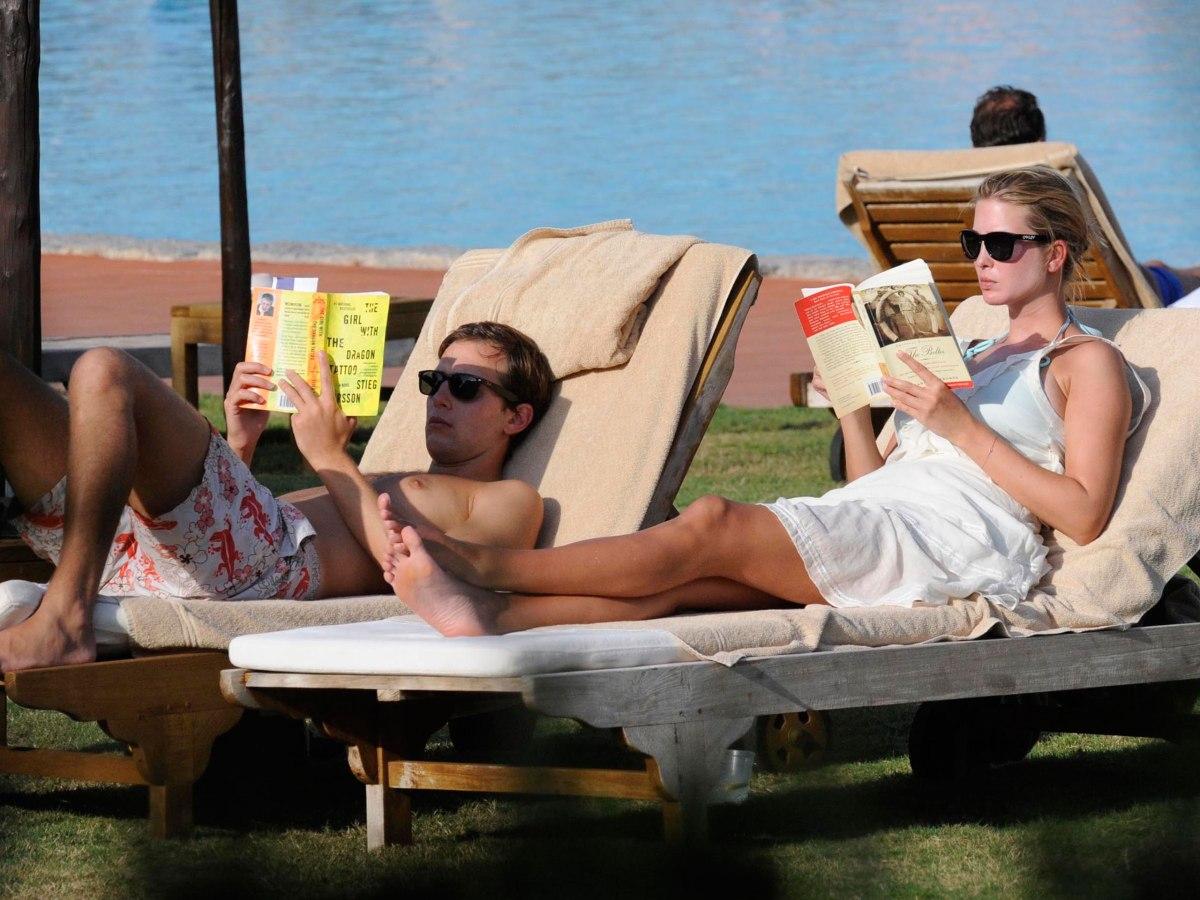 Ivanka Trump & Jared Kushner in holidays.