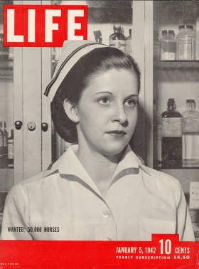 Jan. 5, 1942 cover of LIFE magazine.