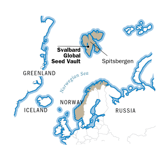 Norway Doomsday Vault Where World S Seeds Are Kept Safe