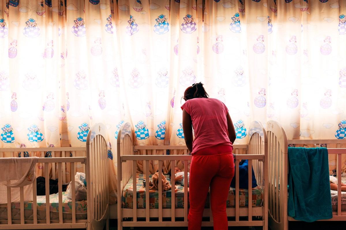 A nursery at a women's prison in Los Teques, near Caracas. Adriana Loureiro Fernández