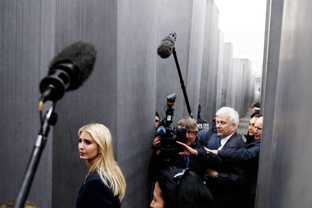 Ivanka Trump visits Berlin