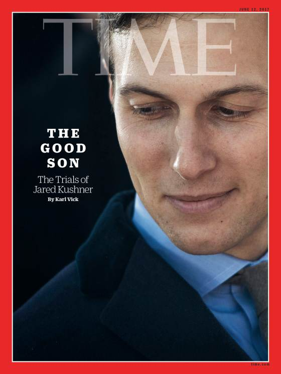 The Good Son Jared Kushner Time Magazine Cover