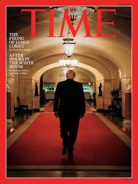 Trump James Comey firing Time Magazine Cover