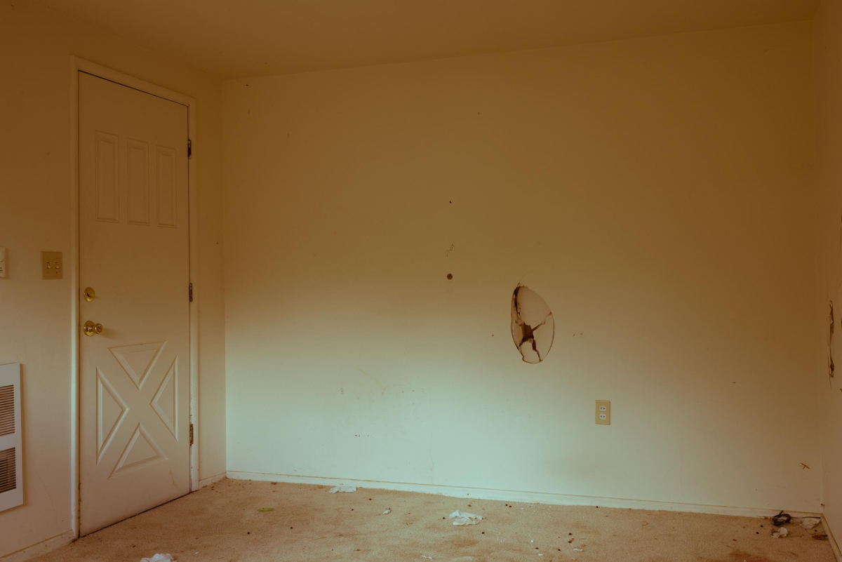 An interior from an abandoned house in Ellensburg.