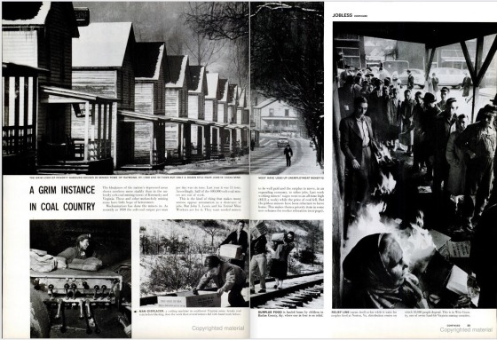 """A Grim Instance in Coal Country,"" from the April 13, 1959 issue of LIFE magazine."