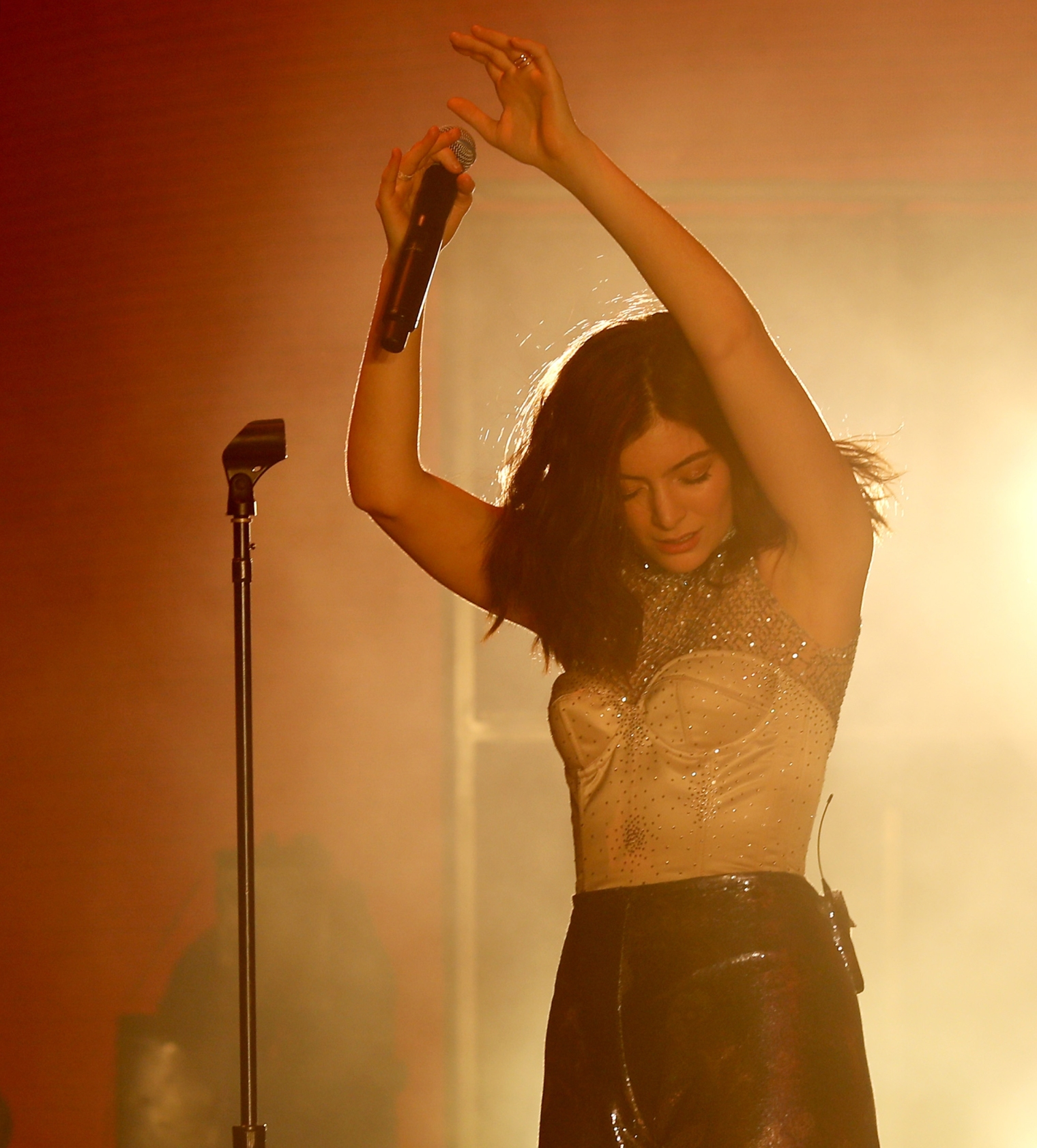 Christopher Polk—Getty Images Lorde performs at the music festival Coachella in mid-April