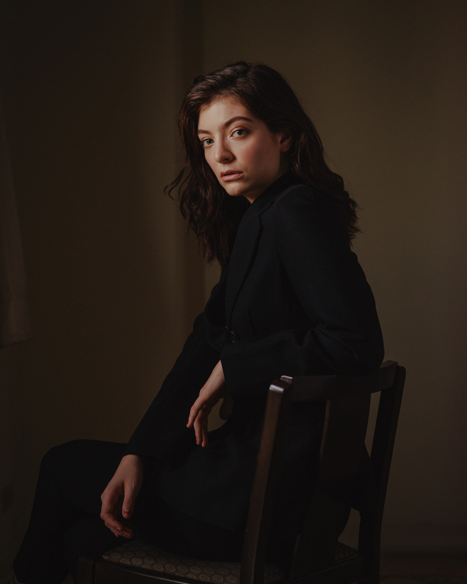 Mark Mahaney for TIME. Lorde photographed at the Chateau Marmont Hotel in Los Angeles on May 18, 2017.