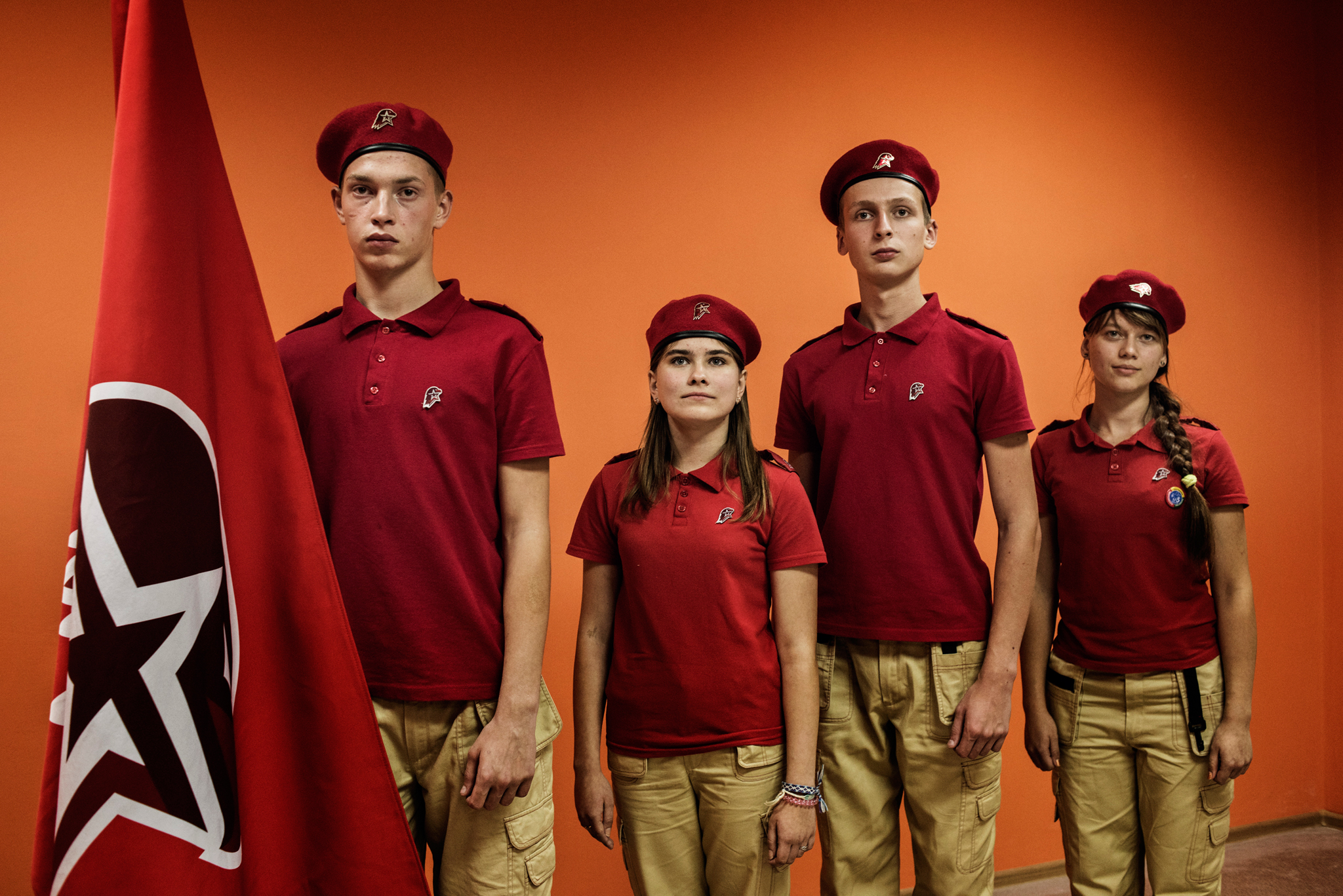 Soviet military-patriotic movement 'Young Army'