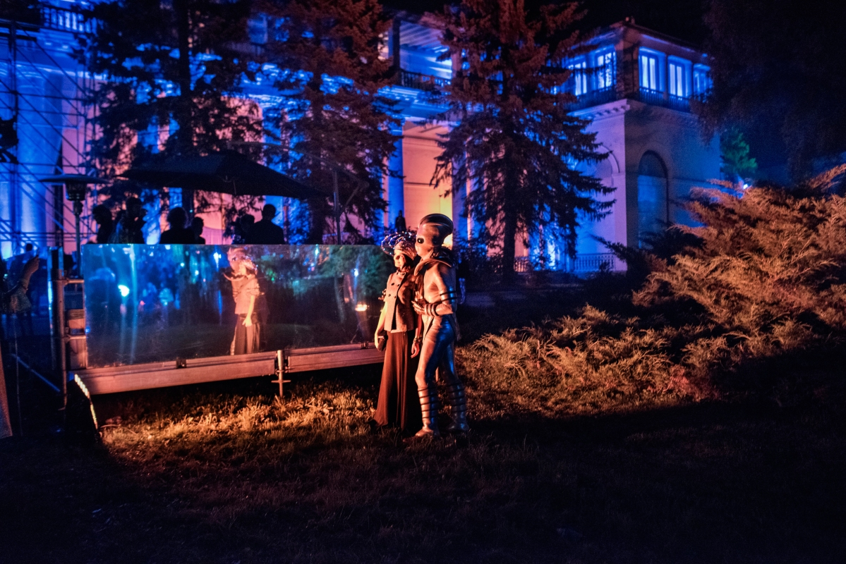 The Midsummer Night's Dream, an annual open-air summer party that styles itself as retro-futuristic. In 2015, the event turned Moscow's biggest exhibition center, VDNKh, into an alternative city of the future, with participants wearing costumes from legendary Soviet sci-fi movies and Hollywood classics like Star Wars and the Matrix.