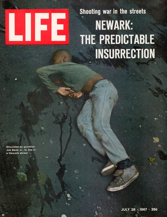 Newark Riots 1967 cover of LIFE magazine.