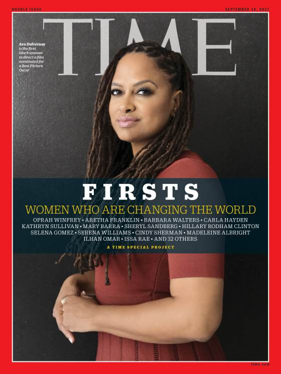 Firsts Women Who Are Changing the World Ava Duvernay Time Magazine Cover