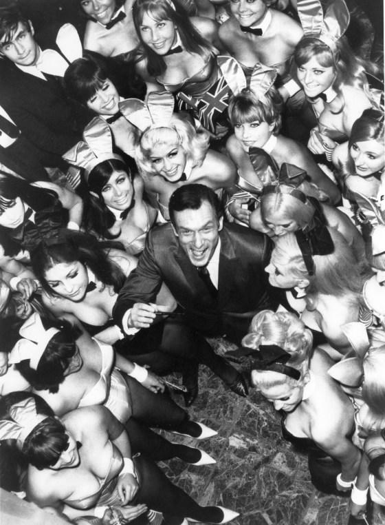Hugh Hefner And The Playboy Playmates 1966