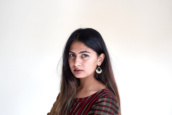 Student activist Gurmehar Kaur photographed in New Delhi, India for TIME on 21st September 2017.