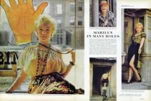 Marilyn Monroe in LIFE magazine by Milton H. Greene in 1957.