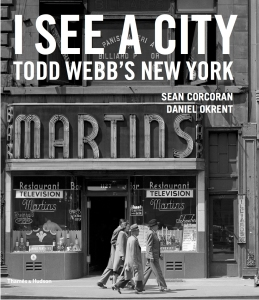 Todd Webb's New York book cover published by Thames & Hudson.