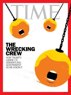 The Wrecking Crew Trump Cabinet Time Magazine Cover