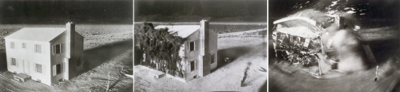 House in Nuclear Test Blast