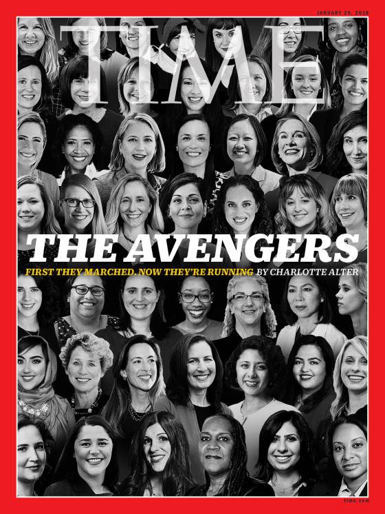 The Avengers Time Magazine Cover
