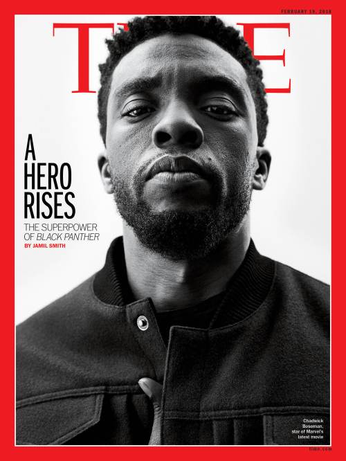 Black Panther Hero Rises Time Magazine Cover