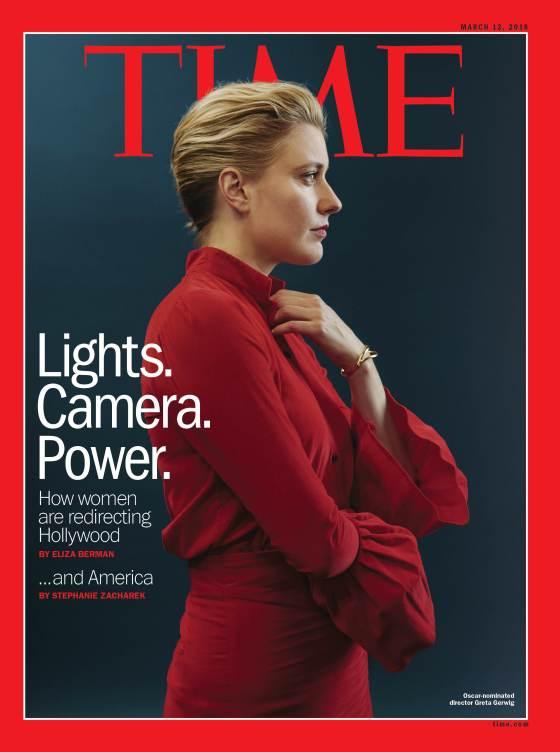 Lights. Camera. Power. Greta Gerwig Time Magazine Cover