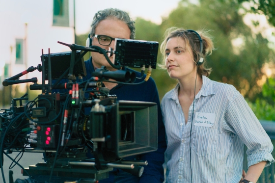 Greta Gerwig had the cast and crew of LadyBird wear name tags to create awarm atmosphere on set