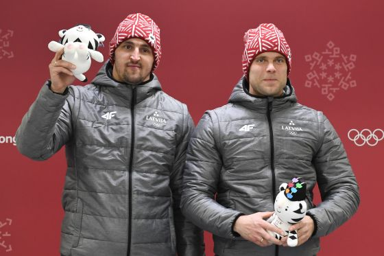 Latvia's Olympic medalists