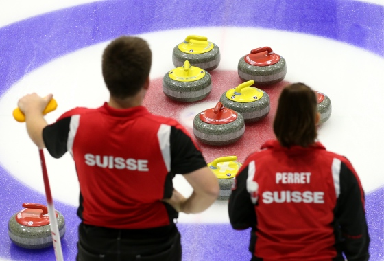 WCT International Mixed Doubles Sochi 2017 continues
