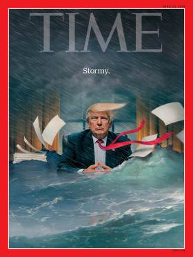 Trump Stormy Time Magazine Cover