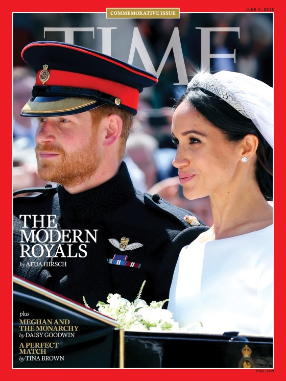 The Modern Royals Meghan Harry Time Magazine Cover