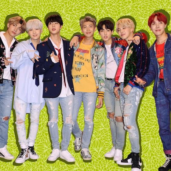 Korean boy band BTS