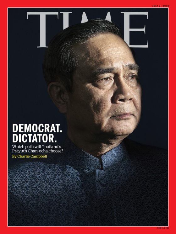 Thailand's Prime minister Time Magazine Asia cover 180702