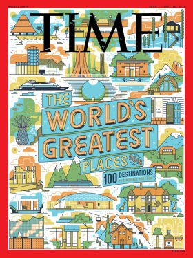 The World's Greatest Places Time Magazine Cover