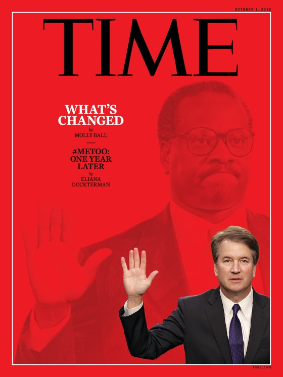 Brett Kavanaugh What's Changed Time Magazine Cover