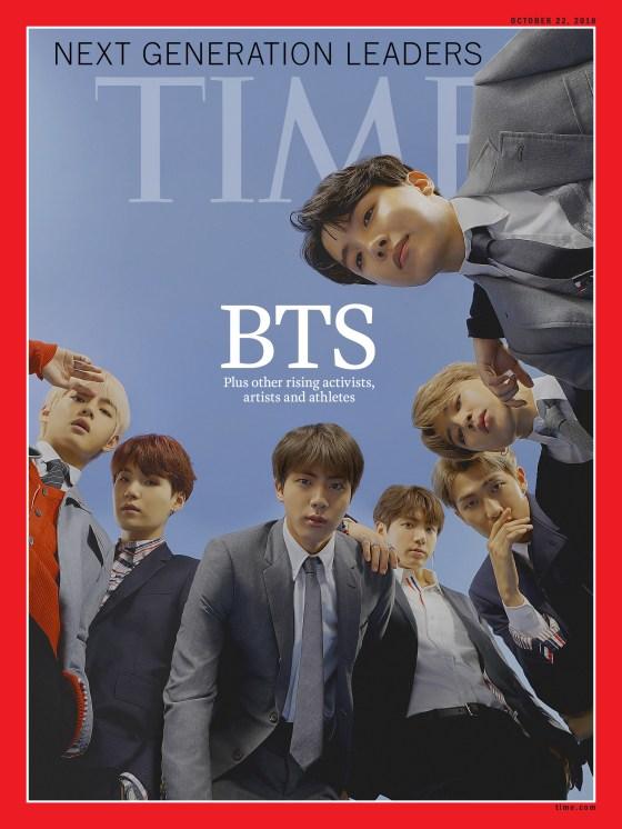 BTS Terpilih Jadi Cover Majalah TIME dan TIME For Kids, Berkat Kesuksesan Bermusik Hingga Menginspirasi ARMY Rajin Berdonasi