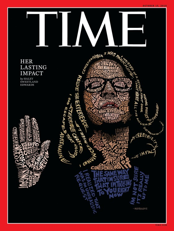 Christine Blasey Ford Time Magazine Cover