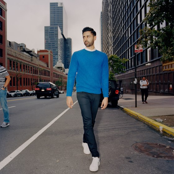 Hasan Minhaj in New York City