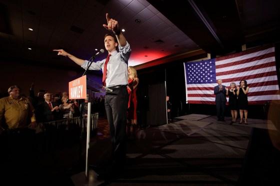 Republican Senate candidate Josh Hawley ousted Democratic incumbent Claire McCaskill in Missouri