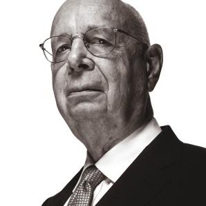 A portrait of Klaus Schwab