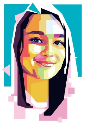 An illustration of Samaira Mehta a Coder and entrepreneur, U.S.