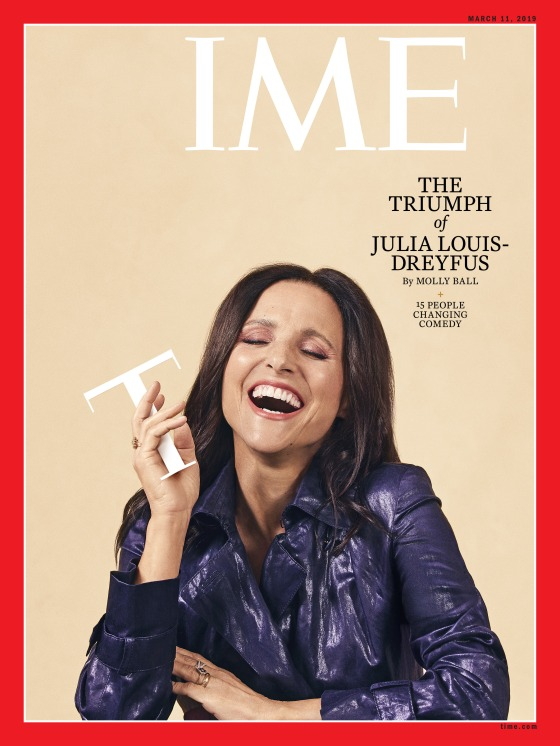 Julia Louis-Dreyfus Time Magazine Cover