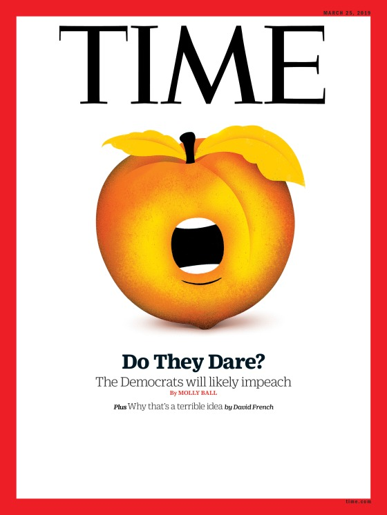 Do they Dare Impeachment Time Magazine Cover