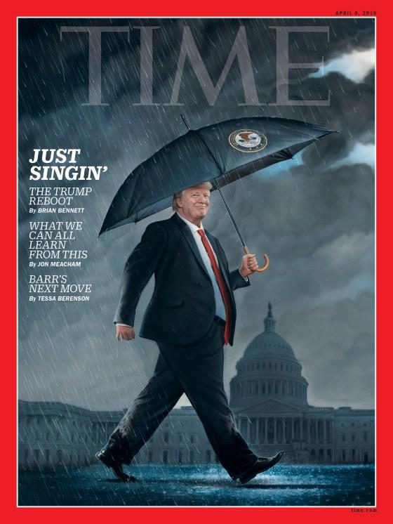 Trump Reboot Time Magazine Cover