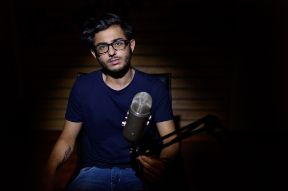 CarryMinati in his studio at home in Faridabad, India, April 25, 2019.
